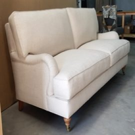 Reupholstery Loura Ashley sofa